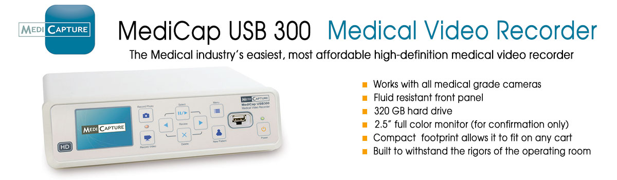 medicap USB 300 Medical Video Recorder