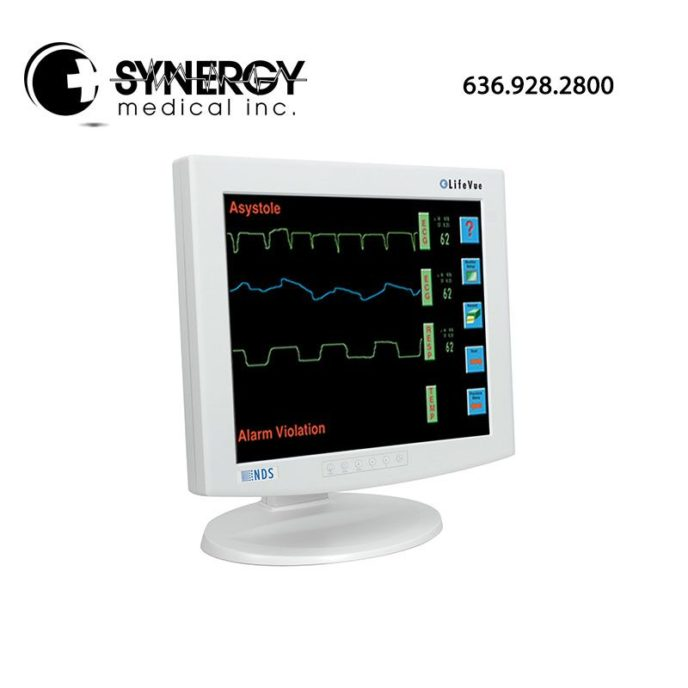 90M0325 NDS 19 inch Lifevue w/ Touch – Audio – Patient Monitoring Display