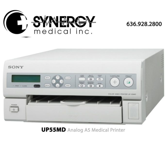 Sony UP55MD (UP-55MD) Analog A5 Medical Printer