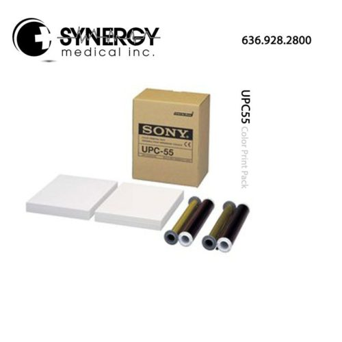 Sony UPC55 (UPC-55) Color Print Pack for UP-55MD medical printer