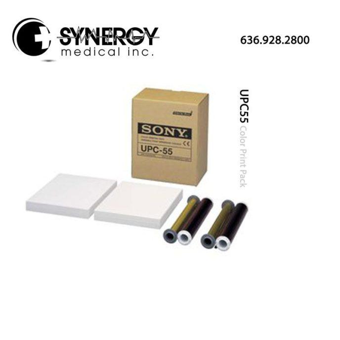 Sony UPC55 (UPC-55) Color Print Pack for UP-55MD medical printer