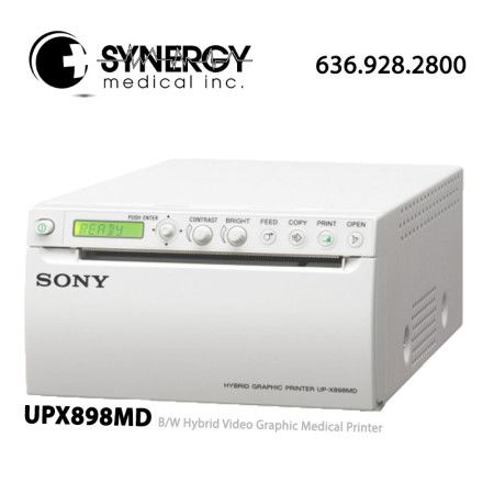 Sony UPX898MD (UP-X898MD) B/W Hybrid Video Graphic Medical Printer