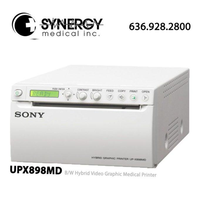 Sony UPX898MD (UP-X898MD) B/W Hybrid Video Graphic Medical Printer