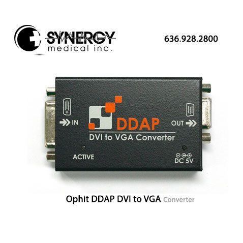Ophit DDAP DVI to VGA Converter