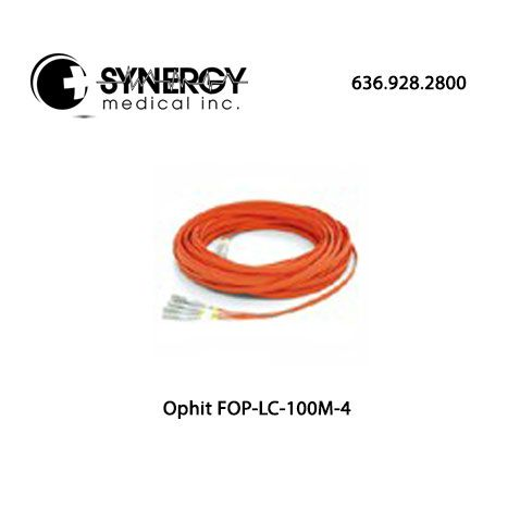 Ophit FOPLC100M4 (FOP-LC-100M-4) LC Single Fiber Optic 100m/330ft Cable