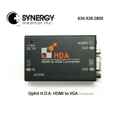 Ophit H.D.A. HDMI to VGA Converter