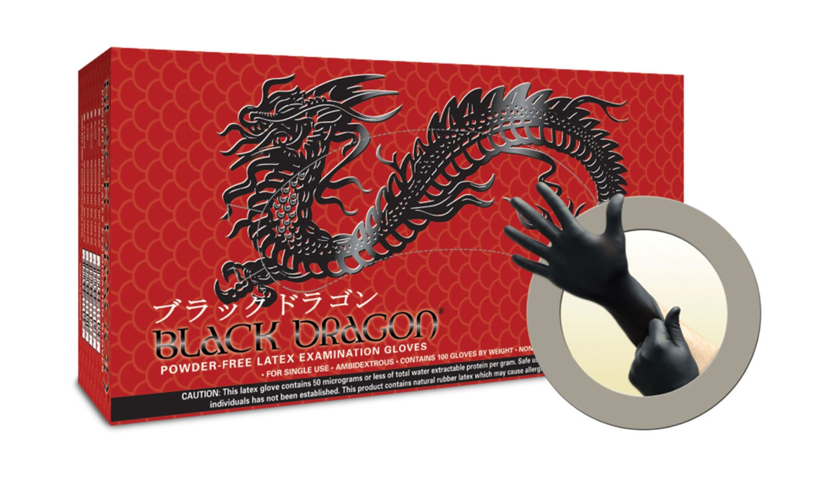 Dragon gloves latex uso personal