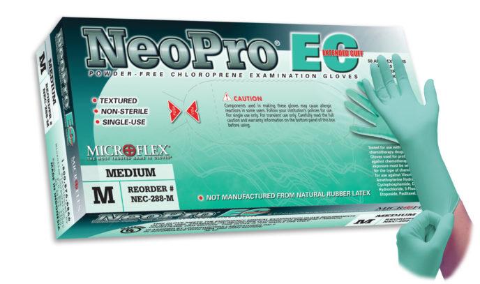 Microflex NeoPro EC NEC-288 powder free chloroprene exam glove