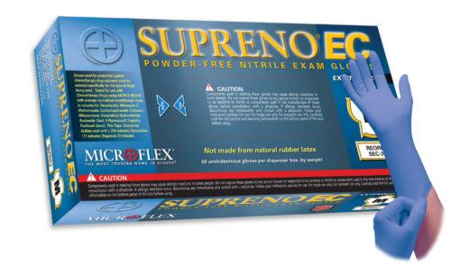 Microflex Supreno EC SEC-375 powder free nitrile exam glove
