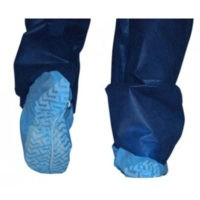 Dukal Shoe Covers 350 - 350-spun-bonded-polypropylene-shoe-covers-non-skid-blue-100bx-3bxcs