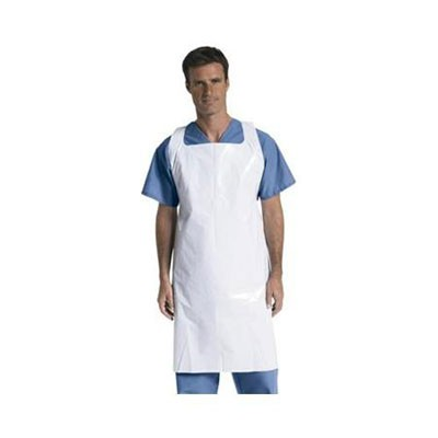 Medline PE Disposable Apron NON24274