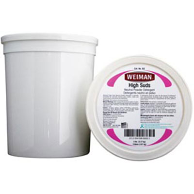 Weiman High Suds Neutral Liquid & Powder Detergents B3