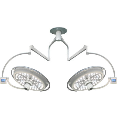 LED Operating Theater Dual Head Surgical Light SL700