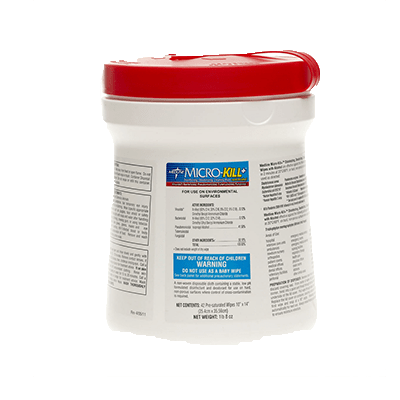Medline Micro-Kill Sanitation Wipes MSC351201