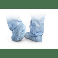 Medline Non-Skid Shoe Cover - cri2002-non-skid-shoe-cover-blue-regl-300cs