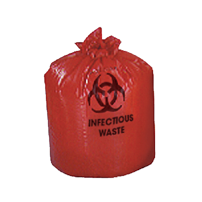 Medline Red Biohazard Bags NON123848