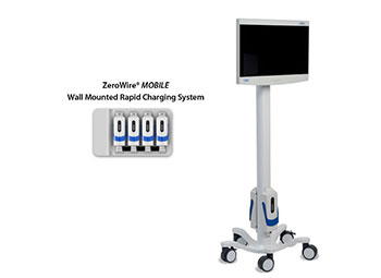 ZeroWire Mobile Wall Mounted Rapid Charging System