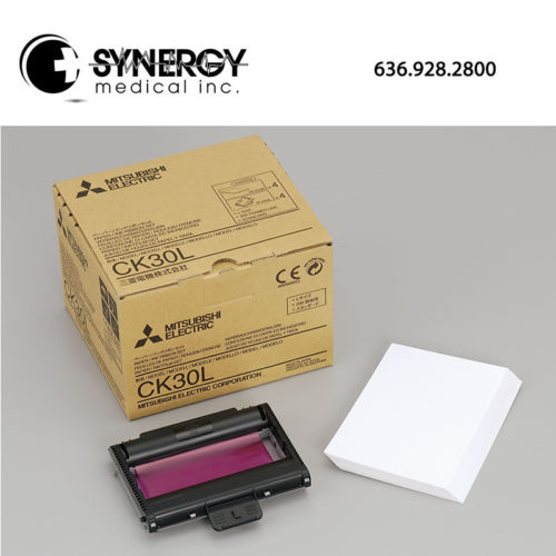Mitsubishi CK-30L Paper and Ink Cartridge