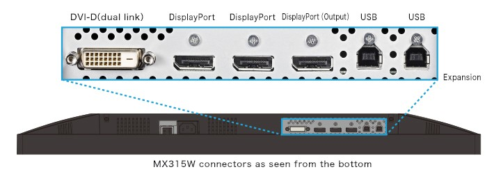mx315 connector