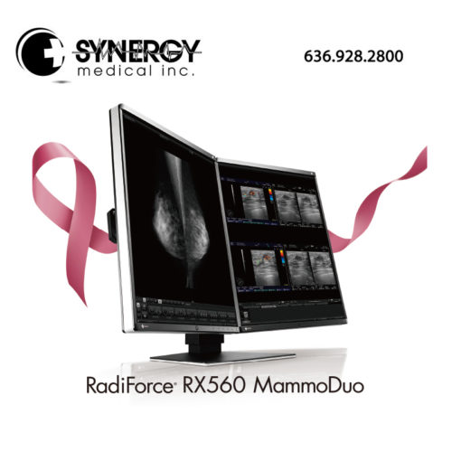 EIZO RADIFORCE RX560 21″ 5MP Mammo Duo Diagnostic Monitor