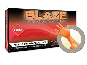 Microflex Blaze N48 Nitrile Powder Free Exam Glove