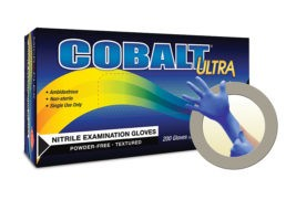Microflex Cobalt Ultra N17 Powder Free Nitrile Exam Glove - n172-pf-m-cobalt-ultra-powder-free-nitrile-exam-glove-200-bx-10bx-cs