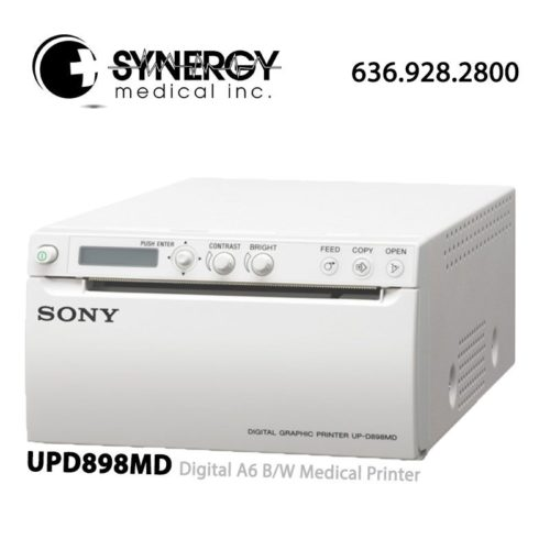 Sony UPD898MD Digital A6 B/W Medical Printer – Refurbished