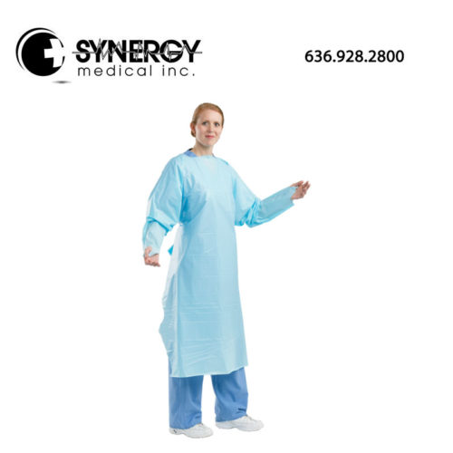 PolyCo 10610 Isolation Gown Extra Large Latex Free