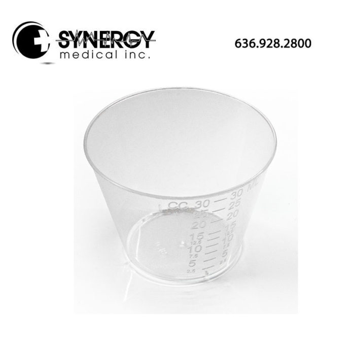 Dynarex 4252 30ML Medicine Cup