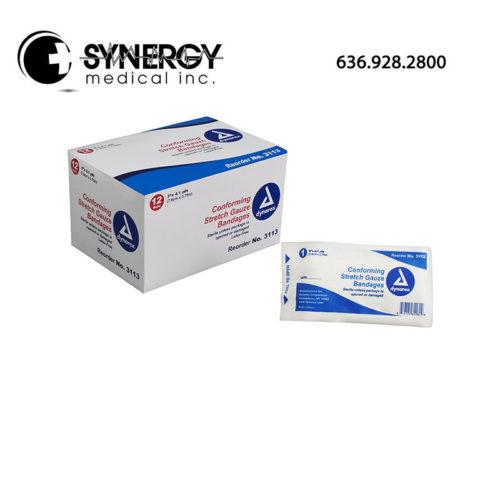 Dynarex 3113 Stretch Gauze Bandages Sterile
