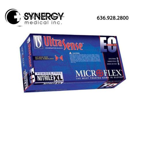 Microflex UltraSense EC USE-880 Powder Free Nitrile Exam Gloves
