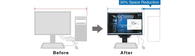 Eizo FlexScan EV2495 24 in LCD Monitor